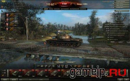Летний ангар для World of tanks