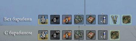 Другая панели снарядов 0.9.0