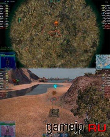 Мод боевого интерфейса World of Tanks