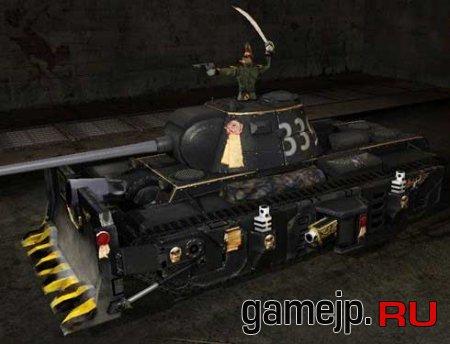 Новый вид танка КВ-3