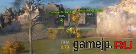 Прицел Аркадный и снайперский для World Of Tanks