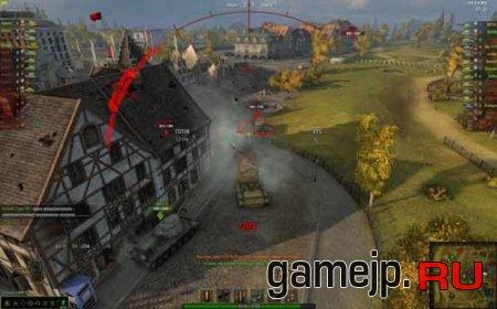 Индикация направления огня для world of tanks 0.9.0