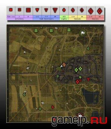 Мини Карта для world of tanks