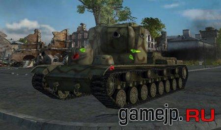 Damage stickers или мод попадания для World of Tanks
