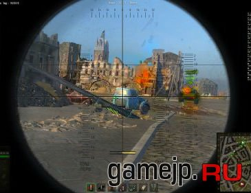 Прицел Scope Sight для World of Tanks