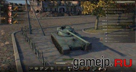 Ангар на карте Руинберг для World of Tanks