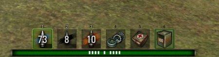 Панель повреждений для World of Tanks в стиле Мортал Комбат