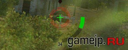 Зеленый прицел для World of Tanks 0.9.0
