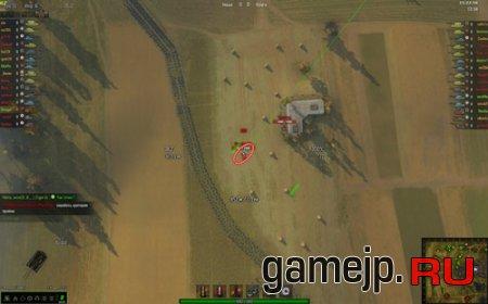 Zoom мод   Командирская камера для World of Tanks 0.9.0