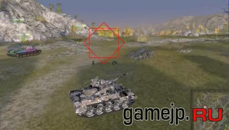 Futuristic прицел для World Of Tanks 0.9.0