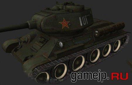 Шкурка для Type 58