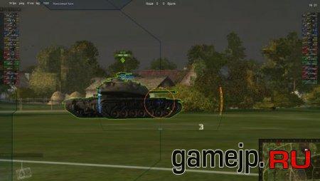 Анимированный прицел для World of Tanks 0.9.0