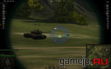 Прицел с дальномером для World of Tanks 0.9.0