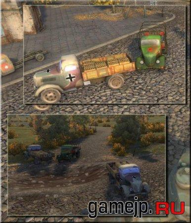 Новые грузовики для World of Tanks 0.9.0