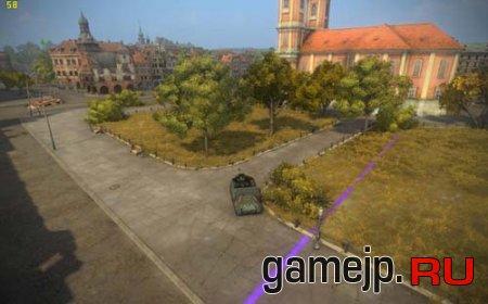 Фиолетовые границы карт в World of Tanks