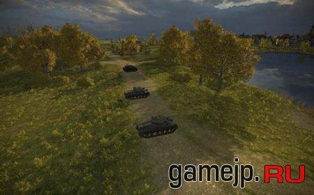 Мод увеличения яркости на картах World of Tanks