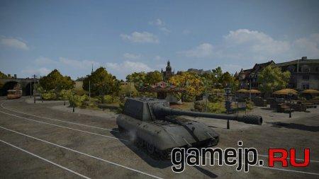 JagdPanzer E-100 - гайд, зоны пробития
