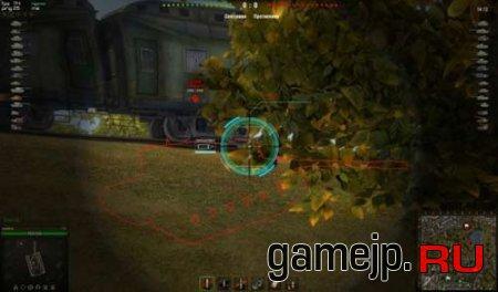 Обычный аркадный и снайперский прицел для World of Tanks 0.9.0