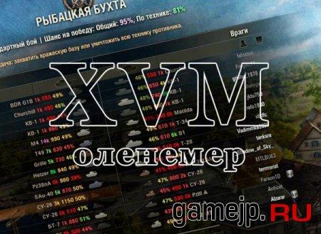 Оленемер и XVM для World of Tanks 0.9.0