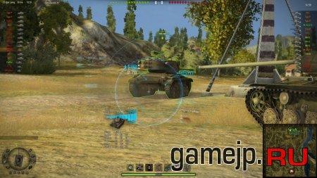 Прицелы с информацией о вражеском танке