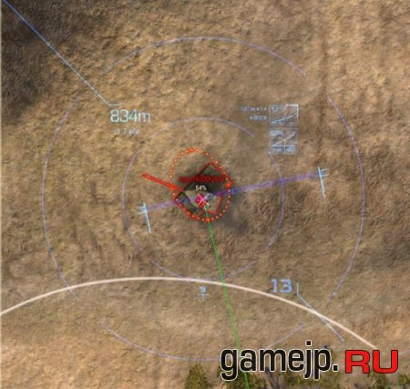 Синий world of tanks 0.9.0 снайперский прицел в модифицированном варианте