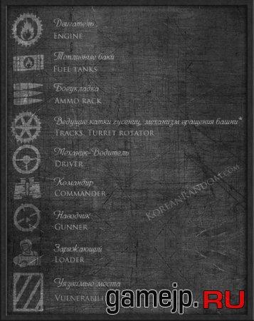 Контурные зоны пробития от Korean Random для 0.9.15.0.1